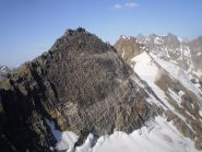 roccia azzurra e punta delle sengie 3408m