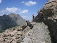 il sentiero costruito dagli alpini nel 1898