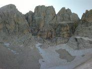 Vetta Orientale, Vetta Centrale, Torrione Cambi dal Calderone
