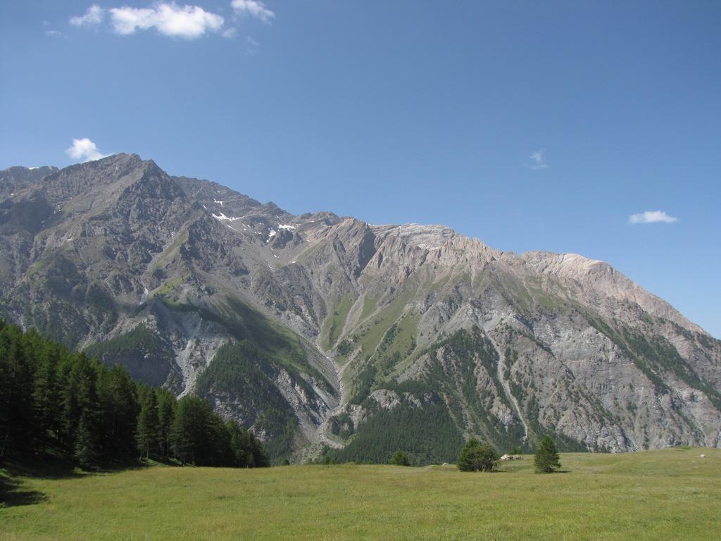 panorama sul gran roc