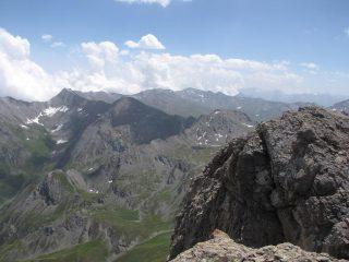 dalla cima panorama su barifreddo e gran queyron