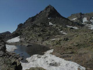 disgelo sotto la Cima Nord Schiantalà