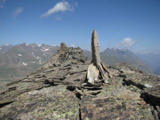 L'obelisco di quota 3200