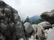 blocchi, un bel passaggio a incastro prima del cascatone