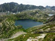 lago Noir e lago du Basto con le Rochers de S.te Marie