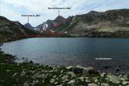 visuale dal primo dei Lac des Hommes verso la nostra meta (7-8-2013)