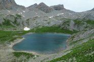 altro splendido lago : Lac Derrière de la Croix nel Vallon du Lauzanier (7-8-2013)