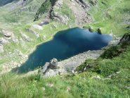 Il lago Fiorenza...sempre bello, anche senza l'immagine del Viso riflessa
