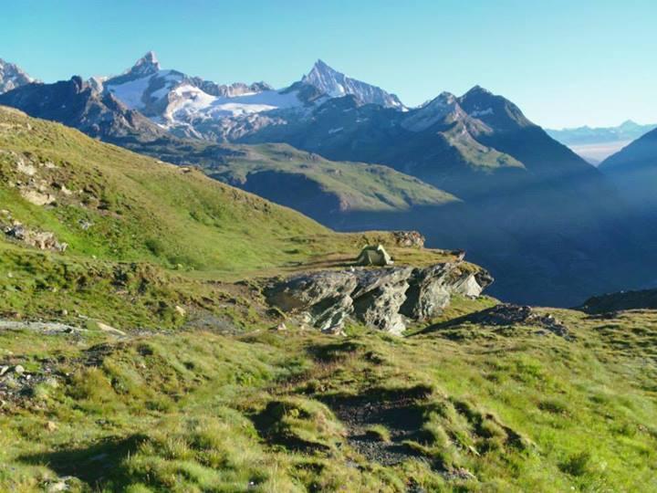 Scendendo verso Zermatt