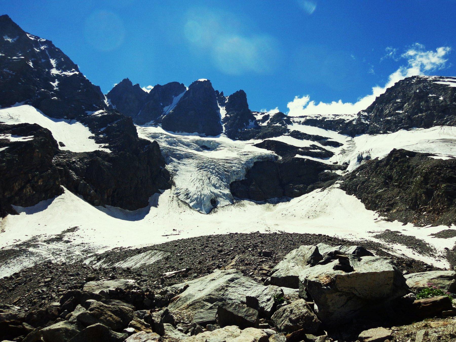 I ghiacciai dietro il Borghi