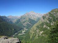 Monte Lera visto da fine ferrata
