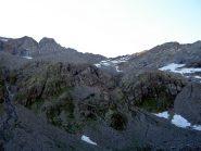 al centro il colle di Lavinetta