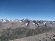 panorama sulle cime delle valli di lanzo