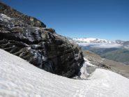 bei panorami salendo verso il ghiacciaio