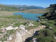 Il lago Tzan nella luce pomeridiana
