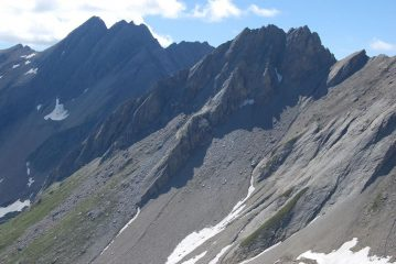 Dal Canavese con passione: l'Aig. di Bonalex (qui vista dalla vetta dal suo versante meno noto).