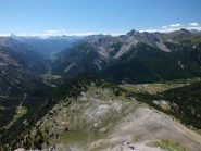 La Val Claree e il sentiero di salita
