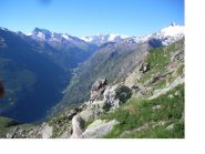 La Valgrisanche dal Col Tighet..