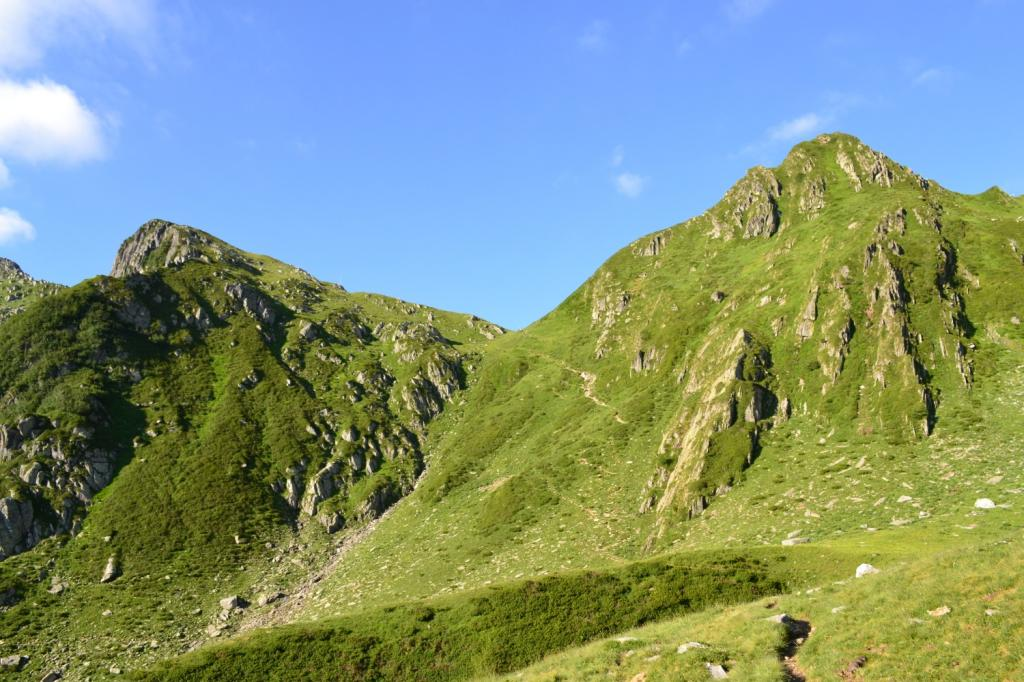 ultimo tratto di sentiero verso il Colle d'Egua