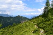 verso l'Alpe Ancium