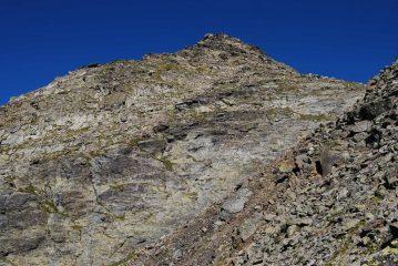 Il Mt Lusse visto salendo: per me ancora una chimera
