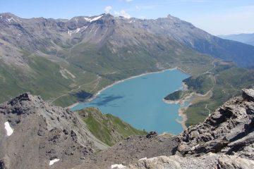 il lago del moncenisio dalla punta