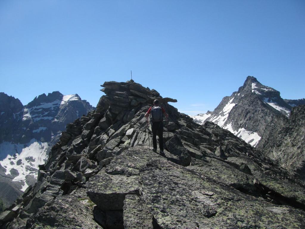 Franco in arrivo al Monte Giansana
