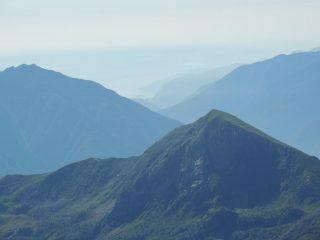 Il lago Maggiore dalla cima