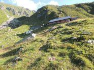 Il rifugio Alpe Laghetto