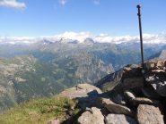 Il monte Leone dalla cima