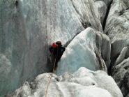 crepacci del ghiacciaio iniziale