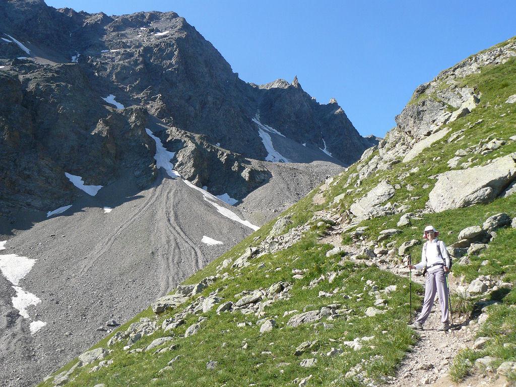 Laurichard (Col de) dal Col del Lautaret 2013-08-14