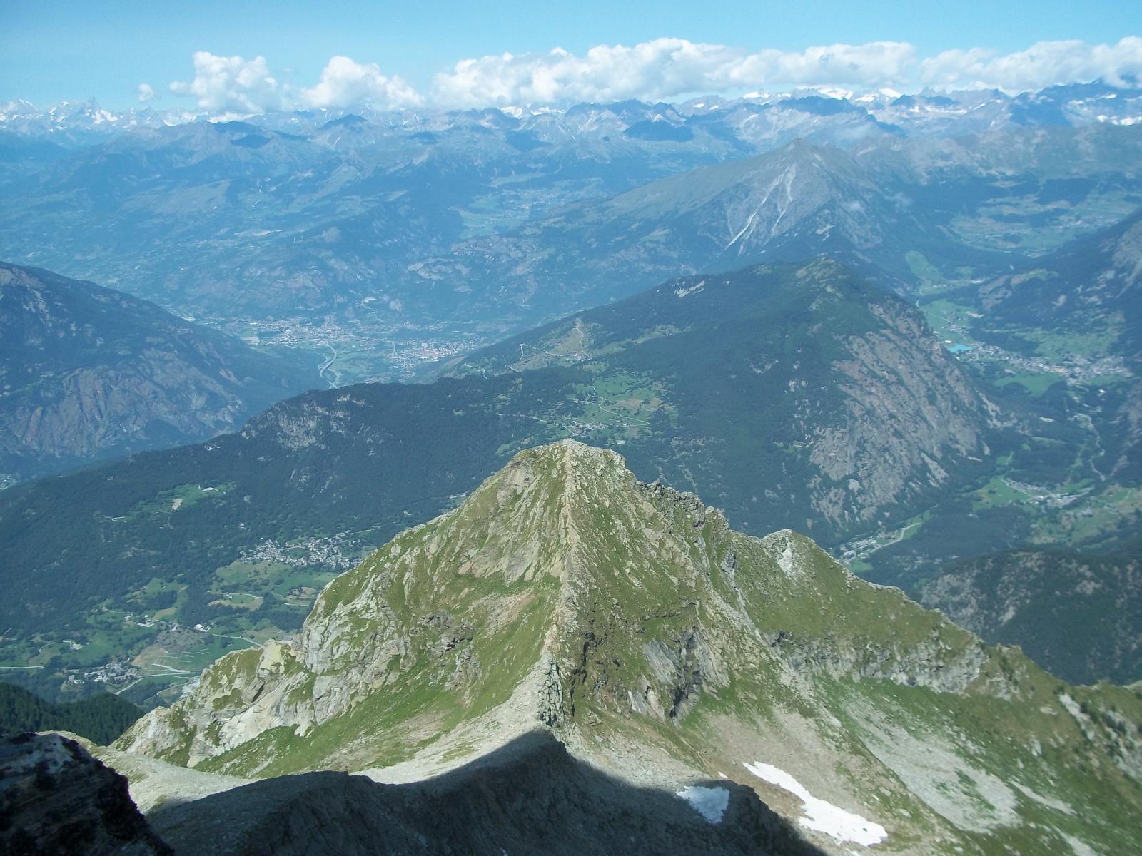 La cresta della Mortens
