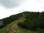 breve tratto tecnico sotto mont Agnellino