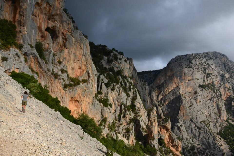 Su Gorropu (Canyon) dal Passo Ghenna Silana 2013-08-15