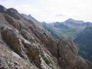vista sulla Valle ed il Colle d'Ayes