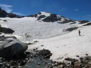 Becca Bianca e ghiacciaio di Usselettes