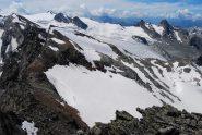 Il ghiacciaio del Rutor, dal Flambeau al Gd Assaly