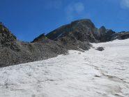 Il Paramont dal ghiacciaio di Usselettes
