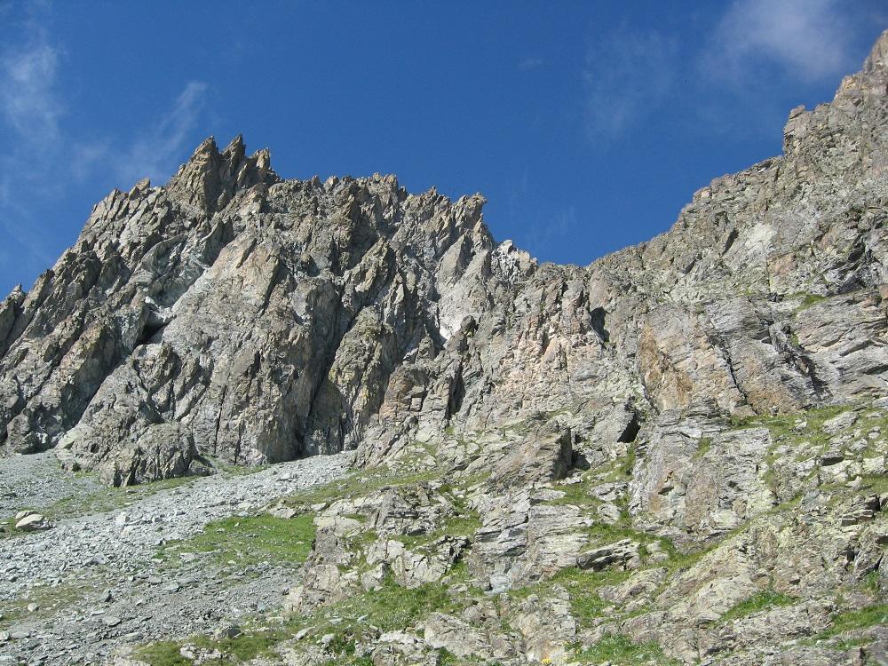 Piemonte (Punta) dal Pian del Re per il Passo delle Sagnette e il versante NO 2013-08-16