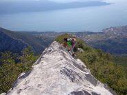Simona sulla cresta est