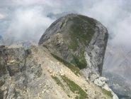 la bizzarra forma sferica della cima