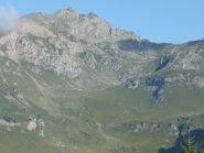 Punte Orsiera e cresta Dumontel