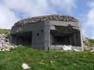 Bunker sotto Cima di Marta