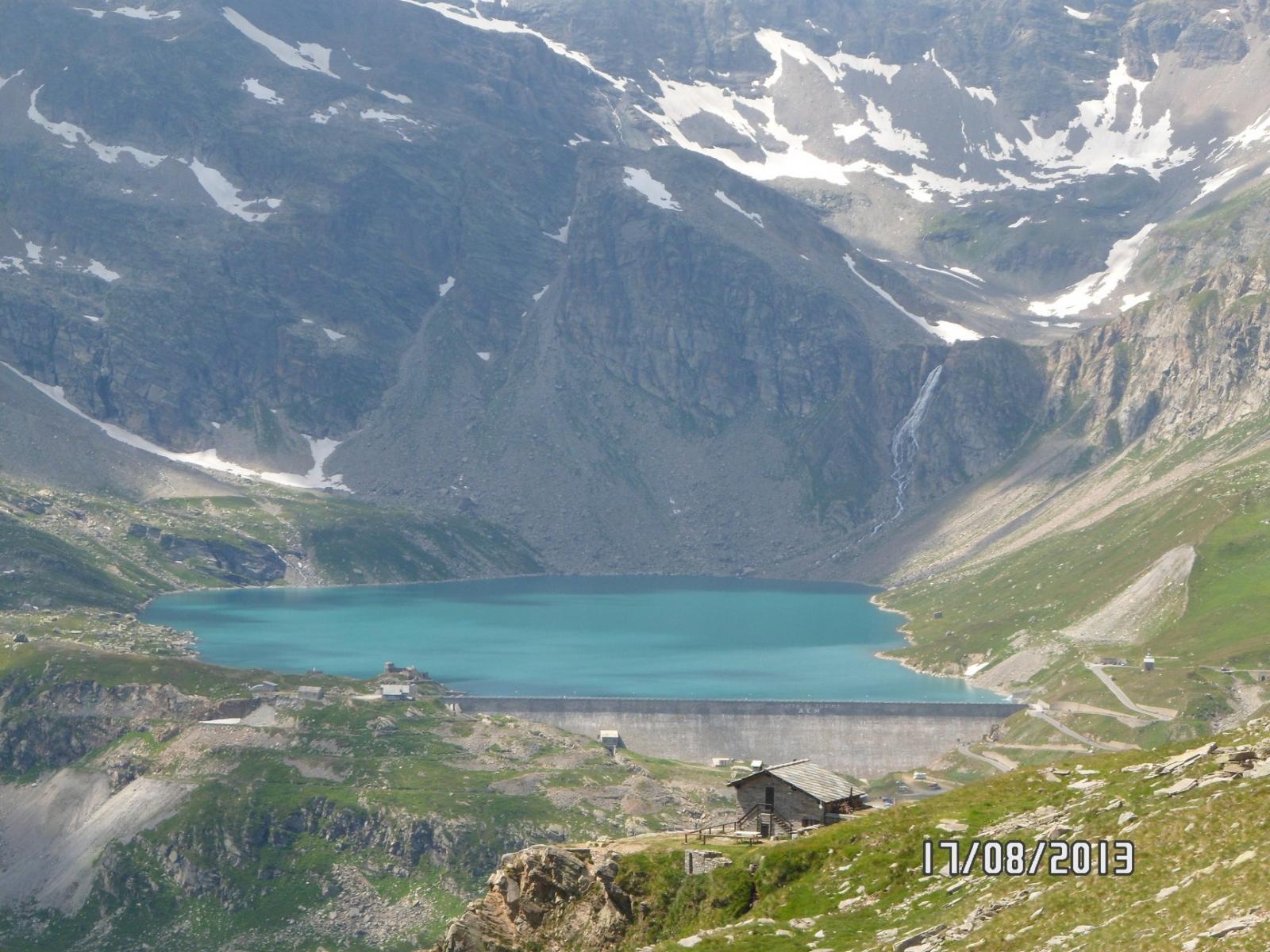 Casa Bastalon e Lago Serrù