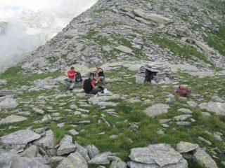 Breve sosta al Passo dell'Alpuggio