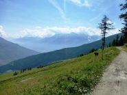 nel tratto dal rifugio verso alpe Ars