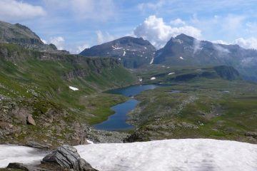 Lago del Busin superiore