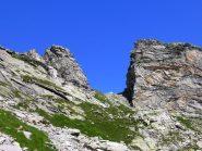 Bocchetta dei Laghi della Crosa, versante Val Calnegia