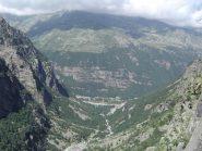 veduta della Val Grande dall'ultima sosta